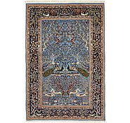 Link to 5' x 7' 4 Isfahan Persian Rug
