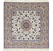 Link to 6' 7 x 6' 8 Isfahan Persian Square Rug