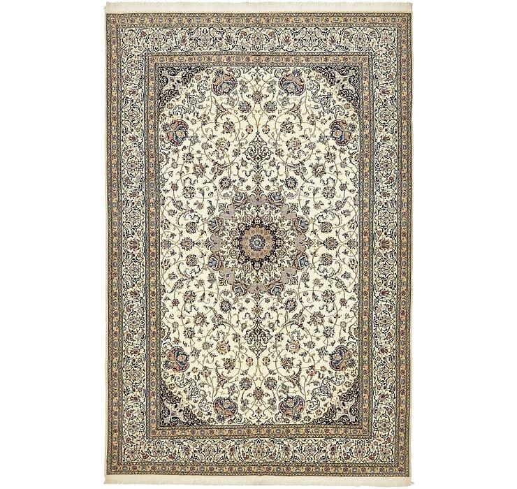 6' 8 x 10' 3 Nain Persian Rug