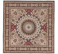 Link to 8' 2 x 8' 5 Tabriz Persian Square Rug