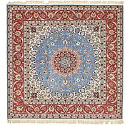 Link to 6' 8 x 6' 9 Isfahan Persian Square Rug