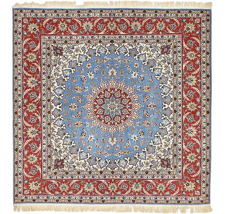 6' 8 x 6' 9 Isfahan Persian Square ...