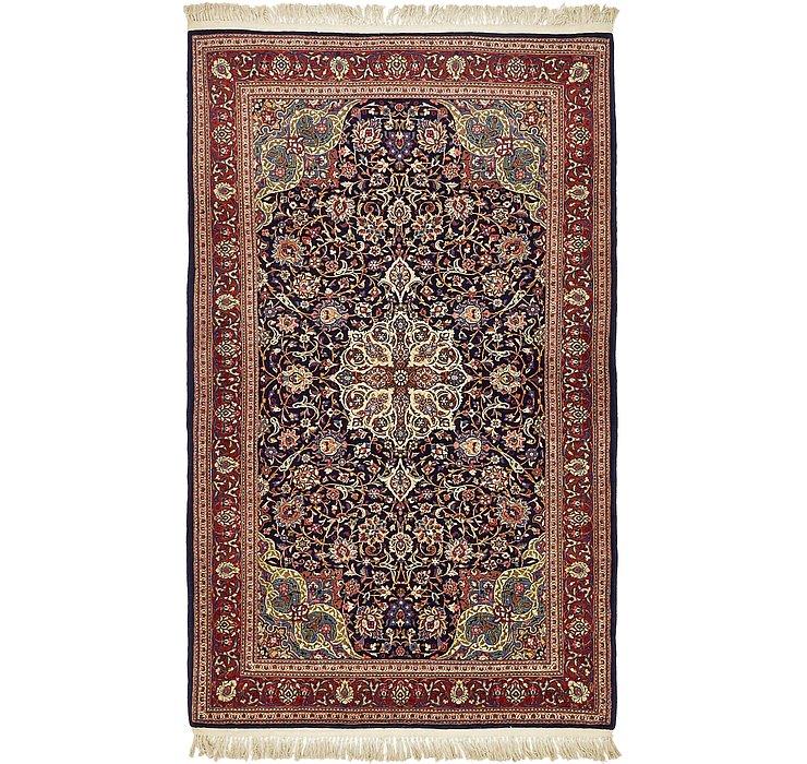 132cm x 218cm Kashan Persian Rug