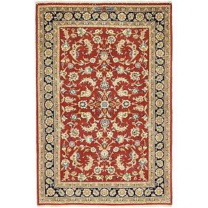 3' 5 x 5' Isfahan Persian Rug