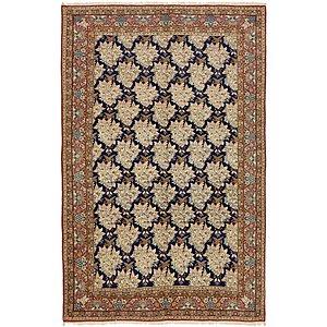 7' x 10' 8 Kashan Persian Rug
