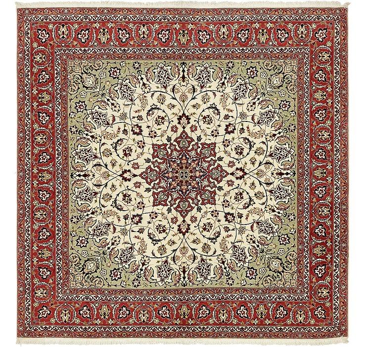 6' 6 x 6' 8 Tabriz Persian Square Rug