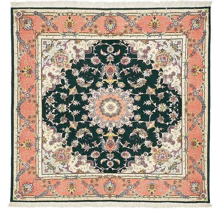 152cm x 155cm Tabriz Persian Square Rug