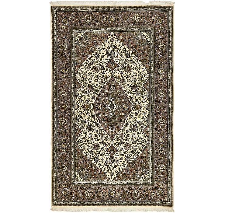 4' 6 x 7' 4 Kashan Persian Rug