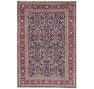 Link to 4' 4 x 6' 4 Qom Persian Rug