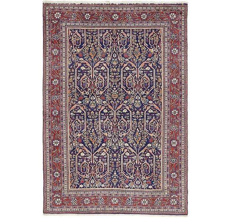 4' 4 x 6' 4 Qom Persian Rug