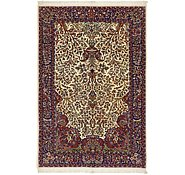 Link to 4' 5 x 6' 6 Qom Persian Rug