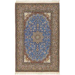 HandKnotted 5' x 7' 10 Isfahan Persian Rug