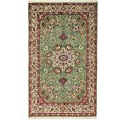 Link to 4' 8 x 7' 7 Qom Persian Rug