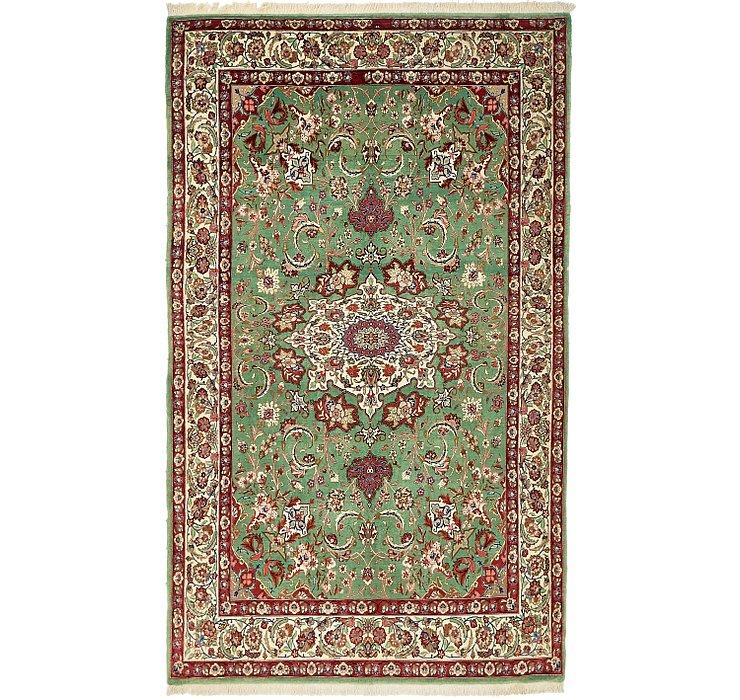 4' 8 x 7' 7 Qom Persian Rug