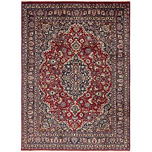 HandKnotted 8' 2 x 11' 6 Mashad Persian Rug