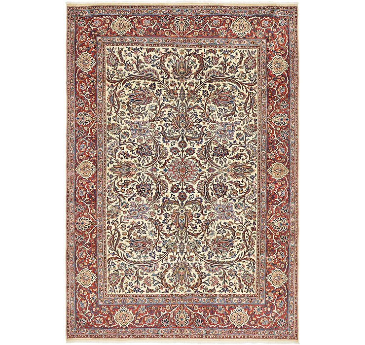 6' 8 x 9' 7 Sarough Persian Rug
