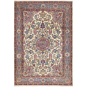 6 10 X 9 Kerman Persian Rug
