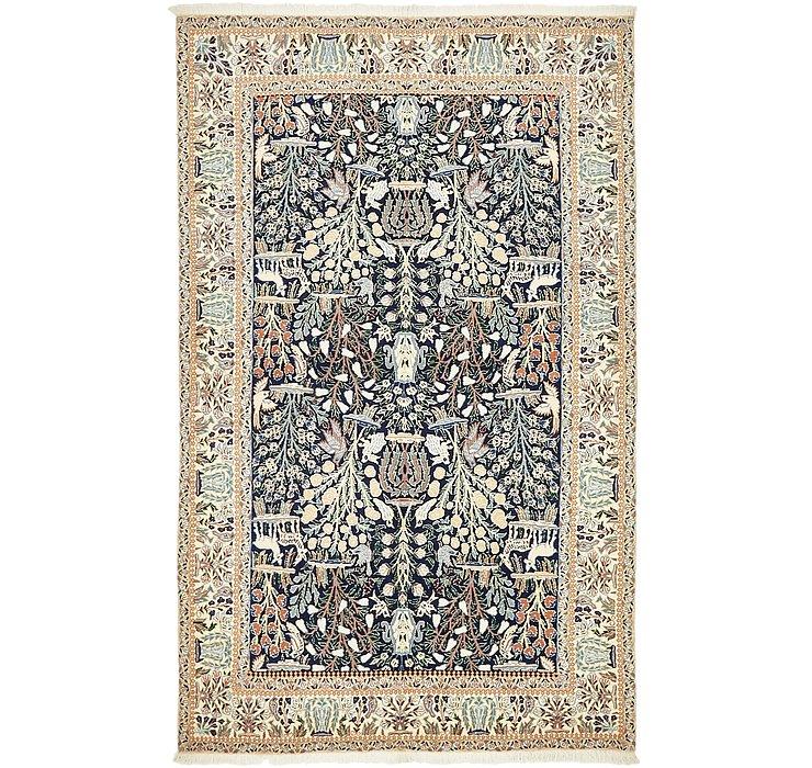 130cm x 205cm Nain Persian Rug
