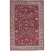 Link to 4' 6 x 6' 7 Kashan Persian Rug