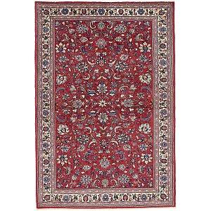 4' 6 x 6' 7 Kashan Persian Rug