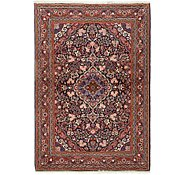 Link to 3' 6 x 5' Qom Persian Rug