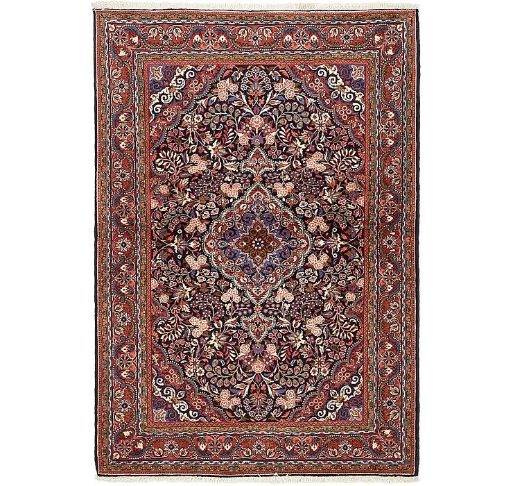 HandKnotted 3' 6 x 5' Qom Persian Rug