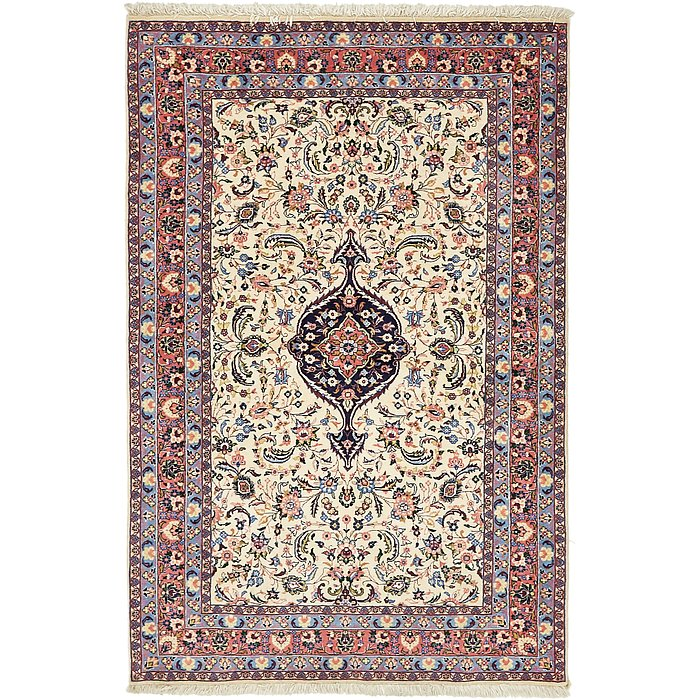 4' 6 x 6' 10 Yazd Persian Rug