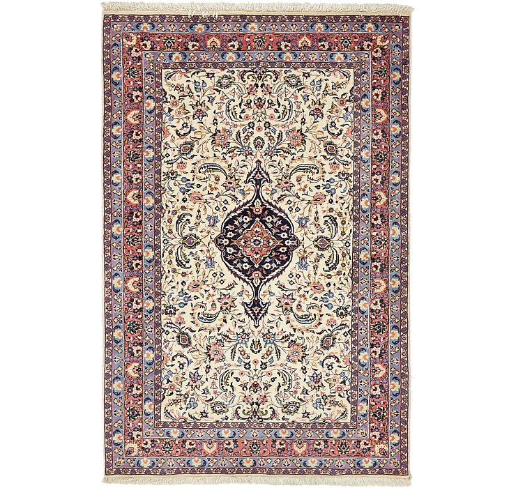 137cm x 208cm Yazd Persian Rug