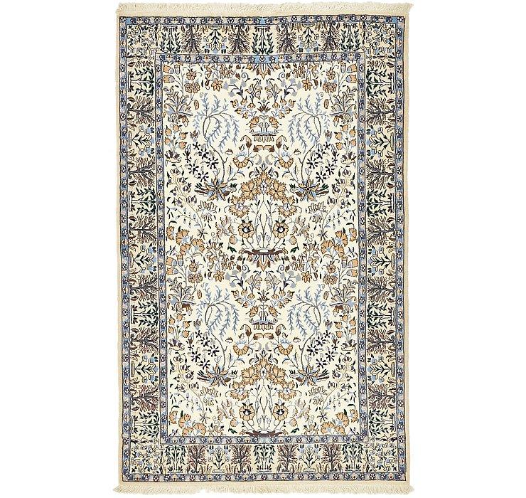 4' x 6' 5 Nain Persian Rug