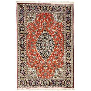 Unique Loom 4' 6 x 6' 8 Qom Persian Rug
