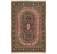 Link to 4' 7 x 6' 10 Qom Persian Rug