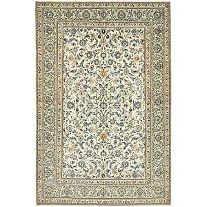 4' 8 x 7' 1 Kashan Persian Rug