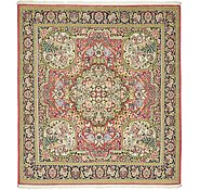 Link to 6' 5 x 7' Qom Persian Square Rug