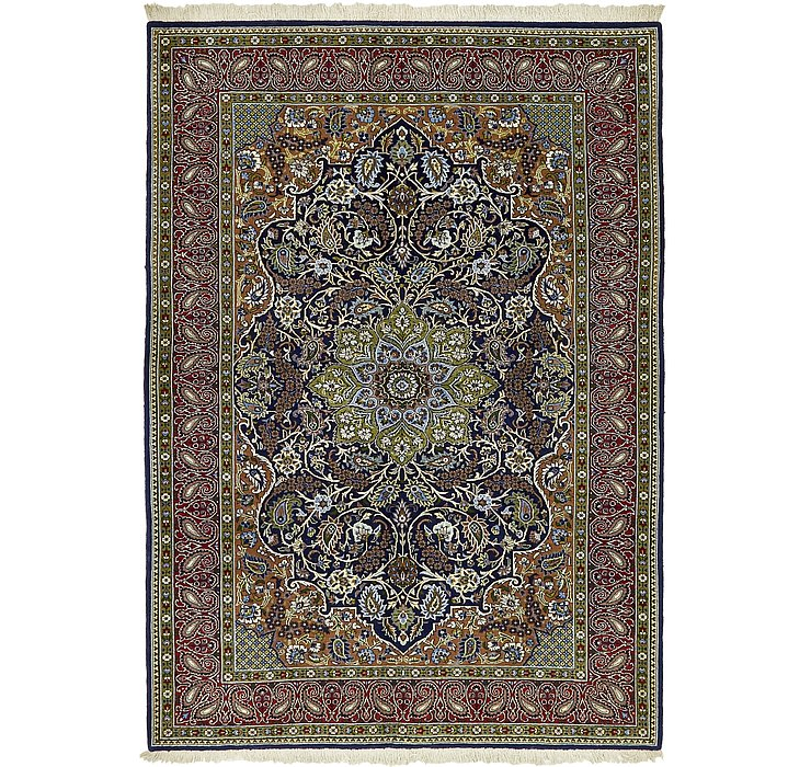 4' 10 x 6' 9 Qom Persian Rug