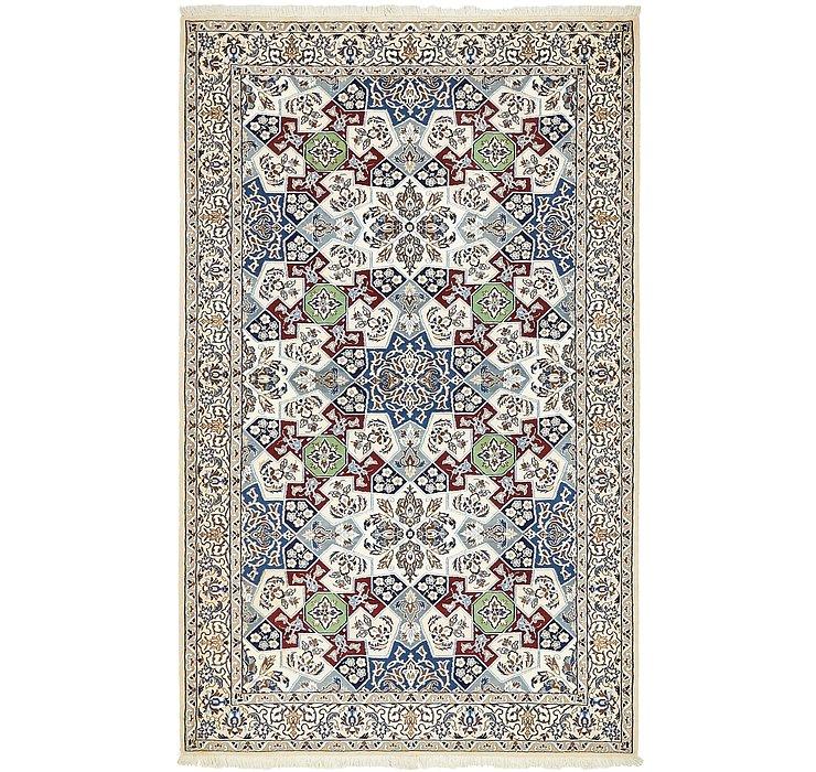 4' 6 x 7' 4 Nain Persian Rug