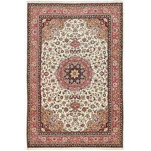 Unique Loom 6' 6 x 10' Tabriz Persian Rug