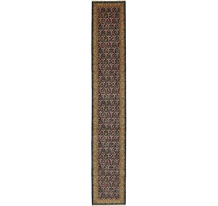 3' 4 x 20' 3 Qom Persian Runner Rug