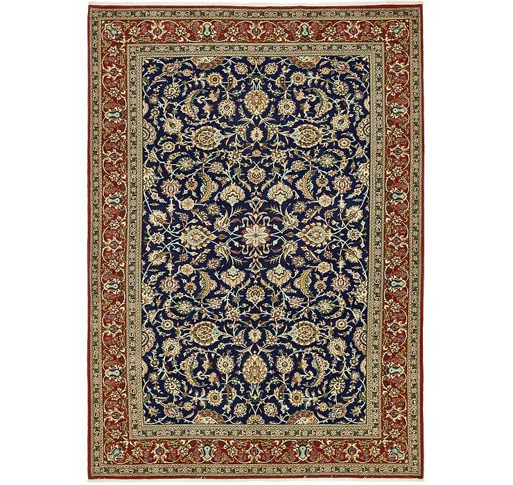 6' 11 x 10' Qom Persian Rug