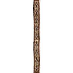 2' 9 x 31' 8 Qom Persian Runner Rug