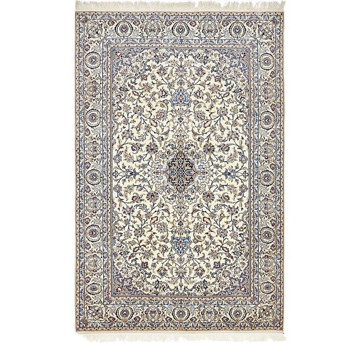7' 1 x 10' 9 Nain Persian Rug