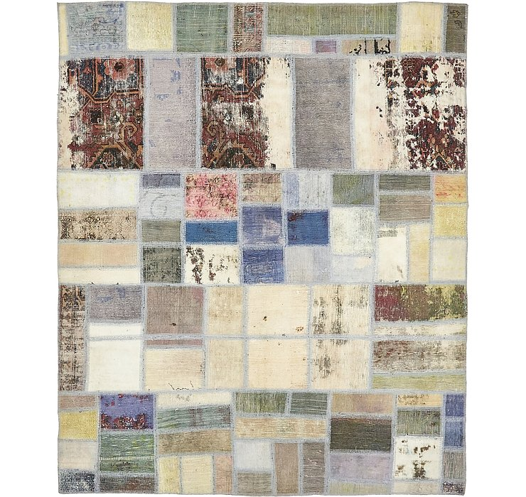 5' 7 x 6' 9 Ultra Vintage Persian Rug