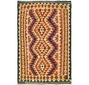 Link to Unique Loom 3' 3 x 4' 11 Kilim Maymana Rug