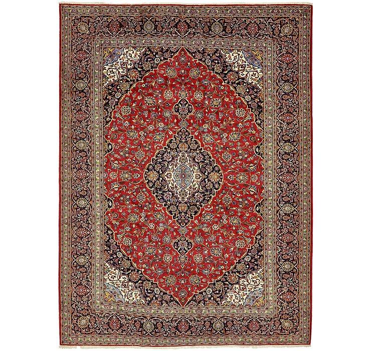 10' x 13' 1 Kashan Persian Rug