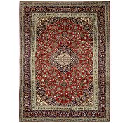 Link to 9' 6 x 13' 1 Kashan Persian Rug