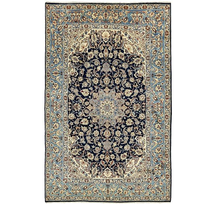 9' x 14' 3 Isfahan Persian Rug