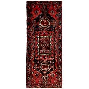 HandKnotted 4' 1 x 10' 6 Sirjan Persian Runner Rug