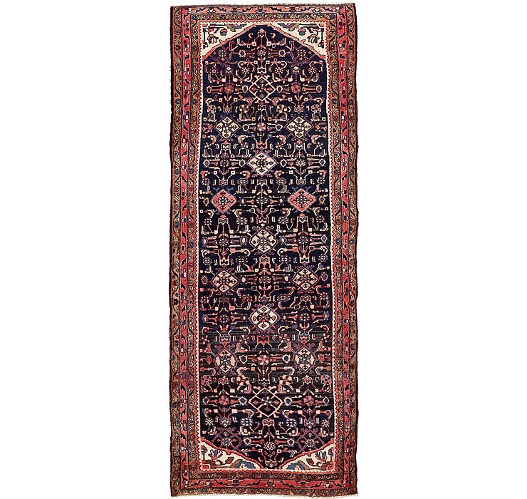 115cm x 333cm Hossainabad Persian Run...