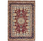 Link to 6' 4 x 9' 2 Mashad Persian Rug