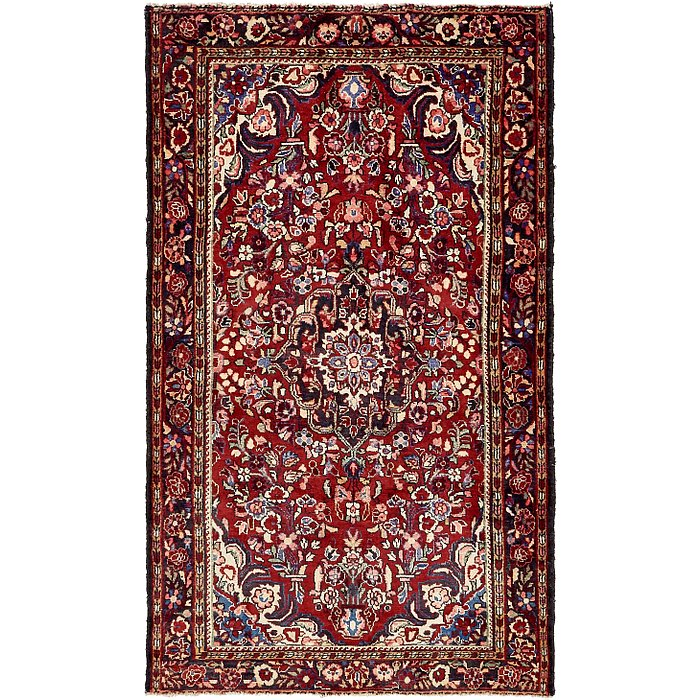 4' 11 x 8' Borchelu Persian Rug