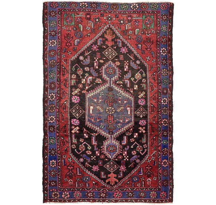 4' 9 x 7' 6 Khamseh Persian Rug